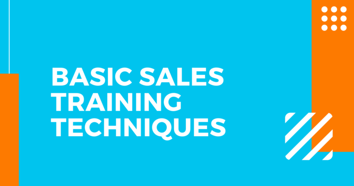 Basic Sales Training Techniques for Small Business Owners